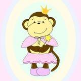 Ejemplo del mono libre illustration