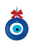Ejemplo del objeto del amuleto o del mal de ojo Imágenes de archivo libres de regalías