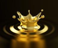 Ejemplo del oro 3d Fotografía de archivo