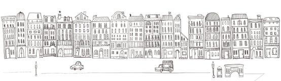 Ejemplo del paisaje urbano libre illustration