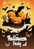 Ejemplo del partido de Halloween del vector Fotos de archivo