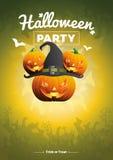 Ejemplo del partido de Halloween del vector Fotografía de archivo