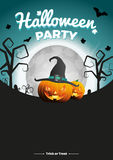 Ejemplo del partido de Halloween del vector Fotos de archivo libres de regalías