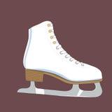 Ejemplo del patines Imágenes de archivo libres de regalías