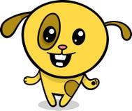 Ejemplo del perrito del kawaii de la historieta Fotos de archivo