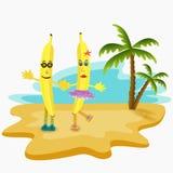 Ejemplo del plátano Foto de archivo libre de regalías