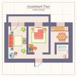 Ejemplo del plan arquitectónico libre illustration
