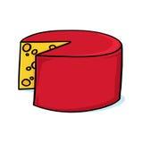Ejemplo del queso Foto de archivo