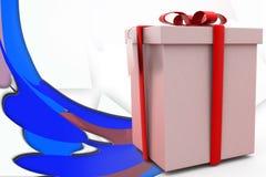 ejemplo del regalo 3d Foto de archivo libre de regalías
