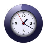 Ejemplo del reloj Ilustración del Vector