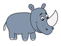 Ejemplo del rinoceronte Fotografía de archivo