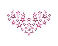 Ejemplo del s?mbolo de la estrella libre illustration