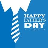 Ejemplo del saludo, inscripción, el día de padre feliz