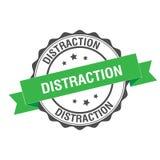 Ejemplo del sello de la distracción stock de ilustración