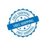 Ejemplo del sello del envío gratis Foto de archivo libre de regalías