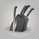 Ejemplo del sistema del cuchillo Imagen de archivo
