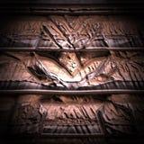 Ejemplo del templo descubierto antiguo stock de ilustración