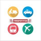 Ejemplo del transporte Foto de archivo libre de regalías