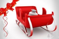 ejemplo del trineo 3d Foto de archivo libre de regalías