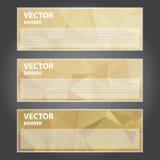 Ejemplo del vector, bandera moderna para el trabajo creativo Imagenes de archivo