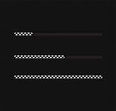 Ejemplo del vector con la barra de cargamento Fotografía de archivo libre de regalías