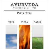 Ejemplo del vector de Ayurveda Tipos de cuerpo de Ayurvedic Imagenes de archivo