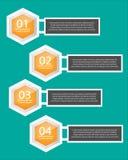 Ejemplo del vector de Infographics del negocio Fotografía de archivo libre de regalías