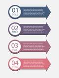 Ejemplo del vector de Infographics del negocio Imagen de archivo libre de regalías