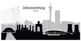 Ejemplo del vector de Johannesburgo Imagen de archivo libre de regalías