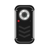 Ejemplo del vector de la cámara del teléfono móvil libre illustration