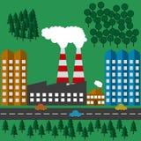 Ejemplo del vector de la ecología vegetal libre illustration