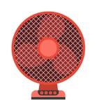 Ejemplo del vector de la fan de techo Imagenes de archivo