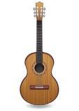 Ejemplo del vector de la guitarra Instrumento musical clásico Imagen de archivo libre de regalías