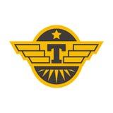 Ejemplo del vector de la insignia del taxi Fotos de archivo libres de regalías