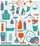 Ejemplo del vector de la limpieza Foto de archivo libre de regalías