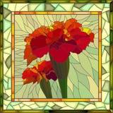 Ejemplo del vector de la maravilla roja Fotografía de archivo libre de regalías