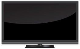 Ejemplo del vector de la pantalla de la TV Fotos de archivo