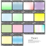 Ejemplo del vector de la película del icono del App Fotos de archivo libres de regalías