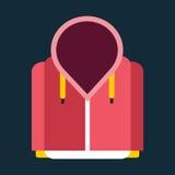 Ejemplo del vector de la snowboard del artículo del elemento del diseño de la chaqueta de la ropa del deporte de la snowboard ilustración del vector