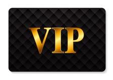 Ejemplo del vector de la tarjeta de los miembros del VIP Imagen de archivo