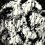 Ejemplo del vector de la textura del fondo del grunge de la pintada Imagenes de archivo