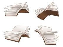 Ejemplo del vector de los libros de vuelo libre illustration