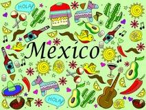 Ejemplo del vector de México Fotografía de archivo