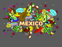 Ejemplo del vector de México Fotografía de archivo libre de regalías