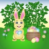 Ejemplo del vector de Pascua feliz ilustración del vector