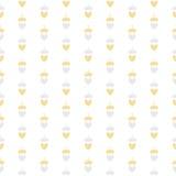 Ejemplo del vector de princesa Seamless Pattern Background Fotos de archivo libres de regalías