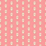 Ejemplo del vector de princesa Seamless Pattern Background Imagenes de archivo