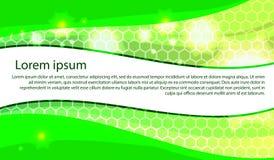 Ejemplo del vector de un fondo verde natural stock de ilustración