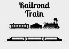 Ejemplo del vector de un tren libre illustration