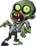 Ejemplo del vector de un zombi de la historieta Fotografía de archivo